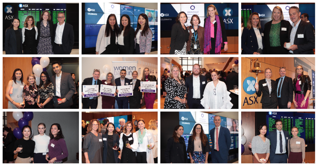 Attendees at the ASX morning tea