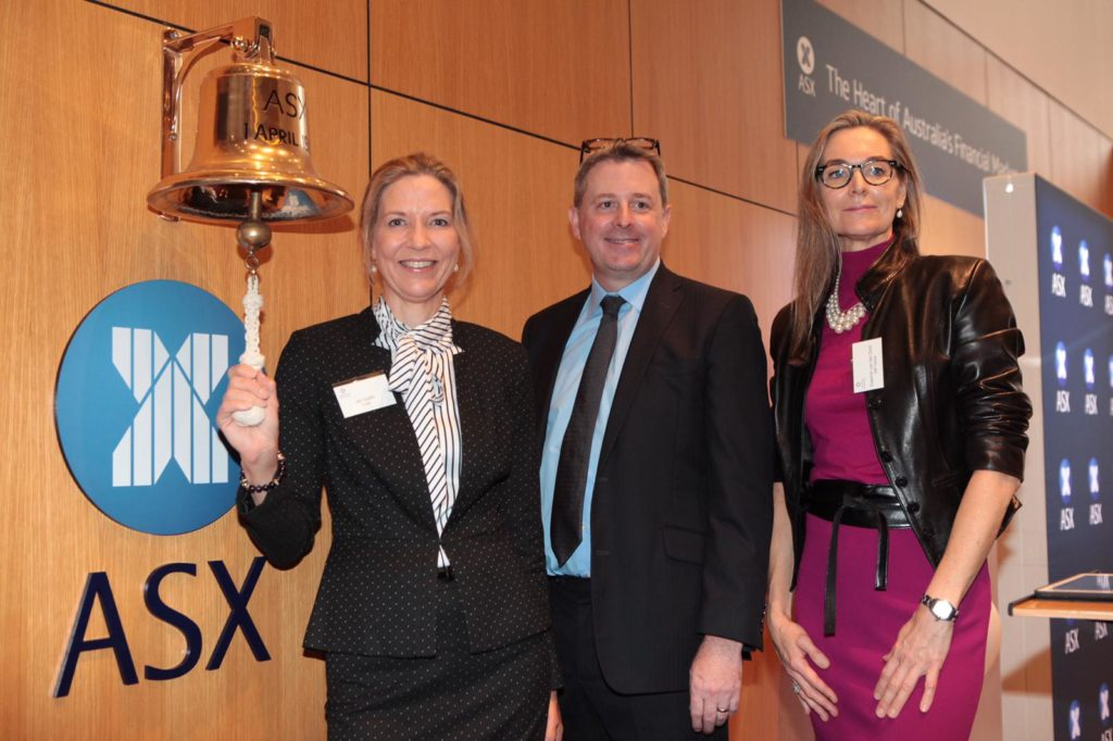 Jen Dalitz, CEO of WiBF rings the Bell for Gender Equality